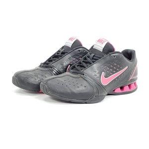 Nike Reax Shox Cross Trainer Shoes Black Pink